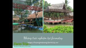 Những trải nghiệm tại farmstay